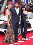 Rila Fukushima Photo - Tao Okamoto Hugh Jackman and Rila Fukushima arriving for The Wolverine premiere Empire Leicester Square London 16072013 Picture by Alexandra Glen  Featureflash