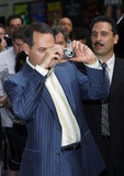 Pee-wee Herman Photo - Paul Reubens aka Pee Wee Herman taking pictures of the press line outside The Late Show With David Letterman on July 11 2006 in New York City