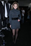 AnnaLynn McCordand Photo - Actress AnnaLynn McCordand pictured backstage before the Monarchy fashion show at the Promenade in Bryant Park on February 14th 2009 in New York City Mercedes-Benz Fashion Week Fall 2009 Collection