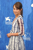 Alicia Vikander Photo - Venice Italy Alicia Vikander at The Light Between Oceans photo call during the 73rd Venice Film Festival in Italy  1st September 2016Ref LMK200-61019-020816Landmark MediaWWWLMKMEDIACOM