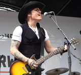 Adam Ant Photo - London UK  Adam Ant performs for National Record Store Day at Berwick Street London 19th  April 2014 RefLMK73-48225-210414Keith MayhewLandmark MediaWWWLMKMEDIACOM