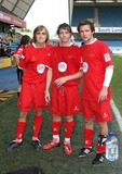 Harry Judd Photo - London UK McFly  (L-R   Tom Fletcher Danny Jones and Harry Judd ) at the Music Industry Soccer Six  held at Millwall FCs New Den ground in London18th May  2008Keith MayhewLandmark Media
