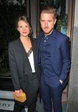 Arthur Darvill Photo - LondonUK  Ines De Clercq and Arthur Darvill  at the My Burberry Black campaign unveiling party Thomass at Burberry Regent Street restaurant Vigo Street London England UK Monday 22 August 2016 Ref LMK315-61311-230816Can NguyenLandmark Media WWWLMKMEDIACOM
