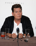 Charlie Sheen Photo - LondonUK  Charlie Sheen at  Lelo Hex  European Launch  Press Conference The Westbury Hotel London UK 16 June 2016 RefLMK394-60716-170616 Brett D CoveLandmark Media  WWWLMKMEDIACOM