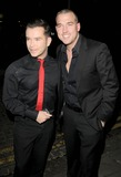 Andy Cowles Photo - London UK Stephen Gateley and Andy Cowles at the Christopher Biggins 60th Birthday party held at the Landmark Hotel in London 15th December 2008Ref LMK315-Can NguyenLandmark Media