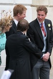 William Prince Photo - London Prince William and Prince Harry talking to Laura and Tom Parker-Bowles at the royal wedding of Prince Charles and Camillia Parker Bowles at Windsor Guildhall9 April 2005Jenny RobertsLandmark Media