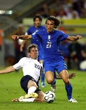 Andrea Pirlo Photo - Brian Mcbride  Andrea Pirlo Challenge Italy V USA K48351 World Cup Soccer 06-17-2006 Photo by Allstar-Globe Photos