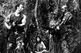 Elpidia Carrillo Photo - Arnold Schwarzegger Elpidia Carrillo Carl Weathers and Bill Duke in  Predator 1987 Supplied by Globe Photos Inc