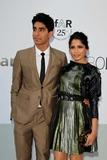 Dev Patel Photo - Actors Freida Pinto and Dev Patel Attend amfars Cinema Against Aids Gala During the 64th Cannes International Film Festival at Hotel Du Cap in Cap dantibes France on 19 May 2011 photo Alec Michael -Globe Photos Inc 2011