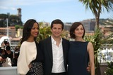 Zoe Saldana Photo - Director Guillaume Canet Actresses Zoe Saldana (L) and Marion Cotillard (R) Attend the Photocall of Blood Ties During the the 66th Cannes International Film Festival at Palais Des Festivals in Cannes France on 20 May 2013 Photo Alec Michael Photo by Alec Michael- Globe Photos Inc