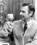 Mr Rogers Photo - Fred Rogers Is the Voice of Daniel the Striped Tiger and Many Other of the Puppets That in Habit the Neighborhood of the Pbs Childrens Program Mister Rogers Neighborhood Photorangefinders  Globe Photos Inc Fredrogersretro (Mr Rogers)