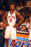 Latrell Sprewell Photo - New York Knick Vs Magic at Madison Sqaure Garden  New York City 02282003 Photo John Barrett Globe Photos Inc 2003 Latrell Sprewell