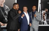 Carl Weathers Photo - Carl Weathers Slyvester Stallone Michael B Jordan attending the Los Angeles Premiere of Creed Held at the Regency Village Theater in Westwood California on November 19 2015 Photo by David Longendyke-Globe Photos Inc