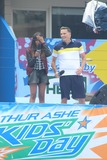 China McClain Photo - L-r China Mcclain Jeff Sutphen Attend 2014 Arthur Ashe Kids Day at Usta Billie Jean King National Tennis Center on 8232014 in Flushing Qns NY