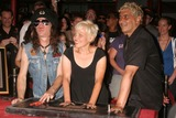 Don Bolles Photo - the Germs Inducted Into Hollywoods Rockwalk 7425 Sunset Blvd Hollywood CA 082008 the Germs - L-r - Don Bolles Lorna Doom and Pat Smear Photo Clinton H Wallace-photomundo-Globe Photos Inc