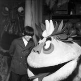 Jack Wild Photo - Jack Wild Looks at the Props to Be Used in His New Show Hr Pufnstuf Kroft Studios San Fernando Valley 1969 Photo by Globe Photos
