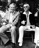 Johnny Carson Photo - Ed Mcmahon and Johnny Carson 2000 Nate CutlerGlobe Photos Inc Johnnycarsonretro