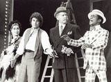 Michael London Photo - Michael London with Carol Lawrence  Milton Berle and Sammy Davis Jr Sammy Davis Starring in NBC Follies 1973 Supplied by Globe Photos Inc