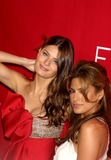 Isabeli Fontana Photo - Revlon Launches Flair Fragrance Mr Chow Tribeca New York City 05-22-2006 Photo Mitchell Levy  Globe Photos Inc 2006 I Sabeli Fontana and Eva Mendes