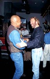 Chuck Norris Photo - Cbs Winter Press Tour Party at Zole Restaurant Pasadena California Chuck Norris and Montell Williams Photo Lisa Rose  Globe Photos Inc 1996 Chucknorrisretro