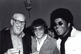 Michael Cole Photo - Michael Cole with Clarence Williams and Mod Squad Production Manager Jack Voglin 1970 Photo by Smp-Globe Photos Inc