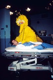 Big Bird Photo - Noah Wyle Taping Episode of Sesame Street at Kaufman Astoria Studio Noah Wyle with Big Bird 1996 Photo by Bruce Cotler-Globe Photos