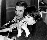 Burt Reynolds Photo - Burt Reynolds and Liza Minnelli Dec 1975 Bill HolzGlobe Photos Inc