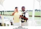 Allen Grubman Photo - Allen Grubman Andre Harrell Bridgehampton Polo Game Aug 98 Photo by Marina GarnierGlobe Photos Inc