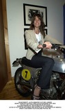 Steve Mcqueen Photo - DAVE BENETT_ALPHA DM044703 12072001 LONDONMODEL CHRISTINA ESTRADA TRIED STEVE McQUEENS TRIAL BIKE-THE WILLIAM CAXTON EXHIBITION OF HIS STEVE McQUEEN PORTRAITS AND STUDIES OF THE LEGENDARY ACTOR AT PLAY ON HIS MOTORBIKE AND SPORTSCAR IN THE DESERTS OF AMERICACREDIT DAVE BENETTALPHAGLOBE PHOTOS INC
