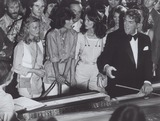 Dean Martin Photo - Charlies Angels with Dean Martin Still Supplied by Globe Photos Inc