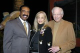 Sidney Sheldon Photo - Arthur and Patty Newman with Sidney Sheldon at Sidney Sheldons 88th Birthday Party at the Camelot Theater in Palm Springs CA 2-10-2005 Photo Byned Redway-Globe Photos Inc 2005