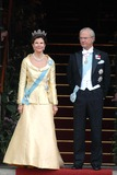 Queen Silvia Photo - State Banquet-swedish State Visit-malmo Town Hall Copenhagen Denmark 05-11-2007 Photo by Ricardo Ramirez-richfoto-Globe Photos Inc King Carl Gustav and Queen Silvia of Sweden