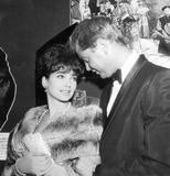 Troy Donahue Photo - Suzanne Pleshette and Troy Donahue at the Peking Premiere Photo by Globe Photos