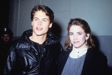 Melissa Gilbert Photo - Melissa Gilbert with Rob Lowe 1984 N2821 Supplied by Globe Photos Inc