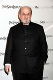 Salman Rushdie Photo - Salman Rushdie Arrives For the Metropolitan Operas Premiere of Jules Massenets Manon at the Metropolitan Opera House at Lincoln Center in New York on March 26 2012 Photo by Sharon NeetlesGlobe Photos Inc