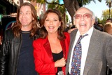 Dawn Wells Photo - Sherwood Schwartz Honored with Star on Hollywood Walk of Fame Hollywood Blvd Hollywood CA 030708 Patrick Denver-son of John Denver with Dawn Wells and Sherwood Schwartz Photo Clinton H Wallace-photomundo-Globe Photos Inc