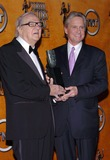 Karl Malden Photo - 10th Annual Screen Actors Guild Awards Pressroom at the Shrine Auditorium in Los Angeles CA 02222004 Photo by Fitzroy BarrettGlobe Photos 2004 Michael Douglas and Karl Malden