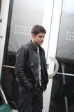 Jeremy Jordan Photo - Jeremy Jordan on the Set of Smash in Front of Manhattan Theatre Workshop on 2st and 2ave 1-9-2013 John BarrettGlobe Photos
