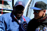 Art Howe Photo - (Chicago Manager) Dusty Barker_(mets Manager Art Howe K29837lcv Opening Day at Shea Stadium Chicago Cubs Vs New York Mets in Queens New York City 3312003 Photo ByGlobe Photos Inc