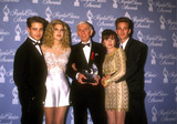 Aaron Spelling Photo - Jason Priestley Tori Spelling Aaron Spelling Shannen Doherty Luke Perry the Beverly Hills 90210 Cast in 1992 Photo by Michelson-Globe Photos