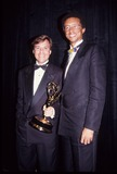 Arthur Ash Photo - Arthur Ashe with Bob Costas Supplied by Globe Photos Inc
