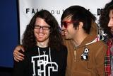 Andrew Hurley Photo - New York City 12-16-08- Peter Wentzandrew Hurley Fall Out Boy at Nokia Theatretimes Square Photos by John Barrett-Globe Photosinc