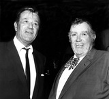 Andy Devine Photo - John Wayne and Andy Devine at a Meeting of the California School of Anticommunism at the Hollywood Bowl Globe Photos Inc Johnwayneobit