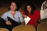 Patti Davis Photo - Rehearsals For Nuclear Freeze Benefit 1982 John Ritter and Patti Davis Photo by Phil RoachipolGlobe Photos Inc 1982 Johnritterretro
