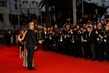 Ayda Field Photo - Singer Robbie Williams and Wife Ayda Field Attend the Premiere of the Sea of Trees at the 68th Annual Cannes Film Festival at Palais Des Festivals in Cannes France on 16 May 2015 Photo Alec Michael