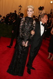 Anne Hathaway Photo - The Metropolitan Museum of Art Costume Institute Gala Celebrating the Exhibition punkchaos to Couture the Metropolitan Museum of Art NYC May 6 2013 Photos by Sonia Moskowitz Globe Photos 2013 Ann Hathaway Valentino