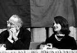 Jacqueline Kennedy Onassis Photo - Lyndon B Johnson and Jacqueline Kennedy Onassis in Texas G HoneycuttGlobe Photos Inc