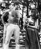 Adrienne Corri Photo - Hugh Obrian and Adrienne Corrie in africa-texas Style 1966 1960s Supplied by AdhGlobe Photos Inc
