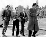 Dean Martin Photo - Frank Sinatra with Dean Martin  Peter Lawford and Akim Tamiroff in oceans Eleven Supplied by Smp-Globe Photos Inc Tv-film Still