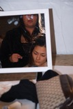 Ai Tominaga Photo - Olympus Fashion Week Perry Ellis Fall 2004 Collection at Bryant Park in New York City 262004 Photo Ken Rumments Globe Photos Inc 2004 Ai Tominaga